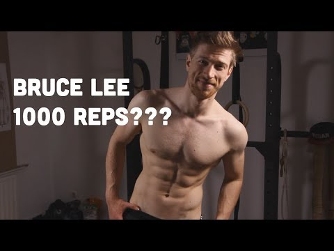 Bruce Lee Ab Challenge Review: I did 1000 reps of Abs exercises a day!