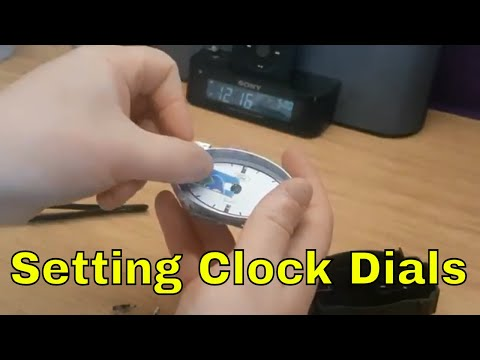 How to set Clock Dials After dismantle ford mondeo mk3