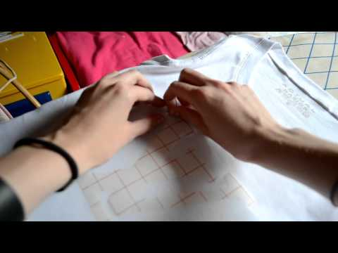 DIY: T-shirt prints with transfer paper