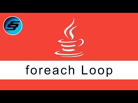 foreach Loop - Java Programming
