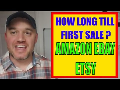 Selling food online How long To make First Sale on Amazon Etsy Ebay Online Business
