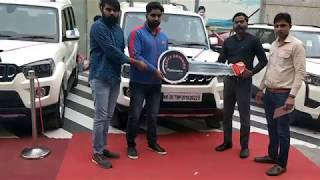 Taking Delivery Of My new Mahindra Scorpio S11 White Colour   My New Car Delivery