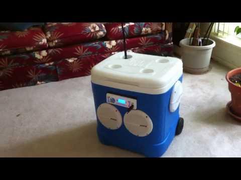 Ice chest radio