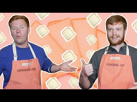 Can These Amateur Guys Make Bread From Scratch? | Gingers On | Delish