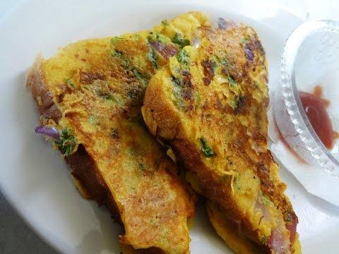 बिना अंडे का फ्रेंच टोस्ट। French Toast | Eggless French Toast | Bread Omelette | Ramzan Special