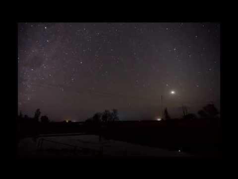 Southern Cross Night Sky Time Lapse