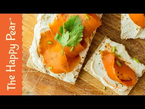 Vegan Smoked Salmon & Cream Cheese | THE HAPPY PEAR
