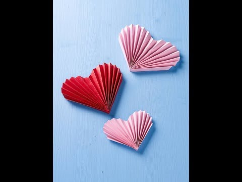 How to make heart with paper   DIY Paper Heart   Easy To Make   Valentine day Ideas