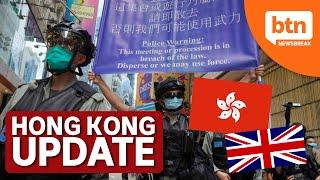 UK opens doors to 3 million Hong Kongers