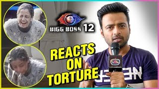 Shrishty Rode Boyfriend Manish Naggdev Reacts On Her Getting Tortured - Exclusive | Bigg Boss 12