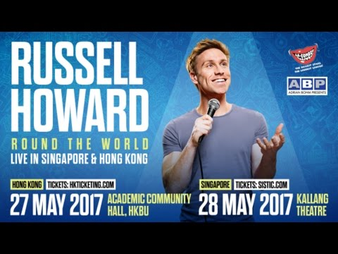 Russell Howard Round The World Hong Kong & Singapore TVC