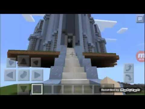 Elsa's ice castle Minecraft
