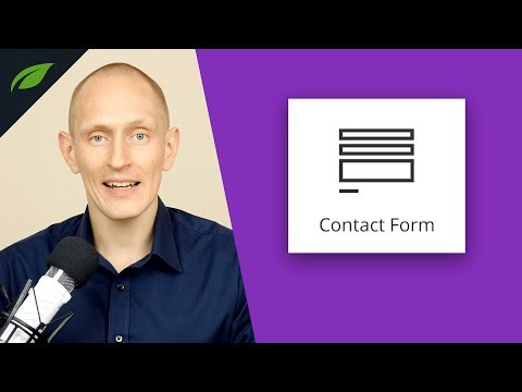 New Contact Form Element in Thrive Architect