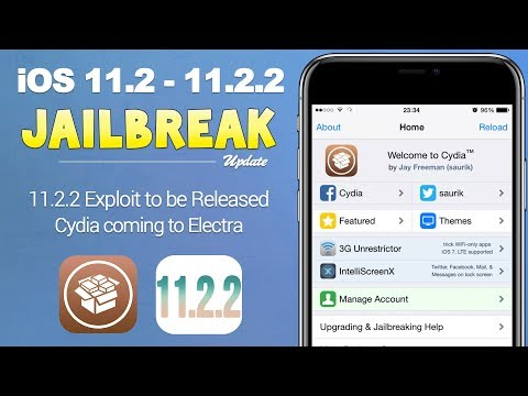 iOS 11.2 - 11.2.2 Jailbreak: New Exploits to be Released! Electra Getting Cydia | JBU 49