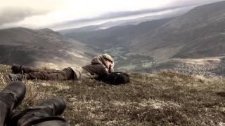 Deer stalking in the Scottish highlands.