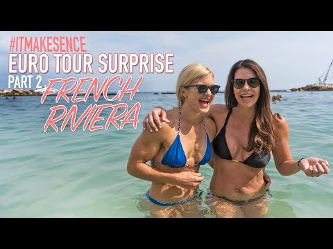 Brooke Ence -  Euro Tour Surprise Part 2 : French Riviera