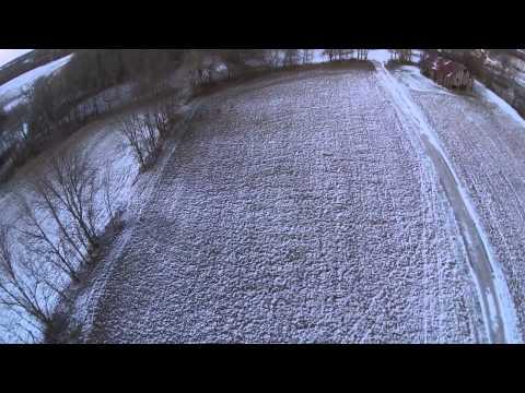 Video of 12 Whitetail Deer at my farm using DJI Phantom 2 Vision + drone