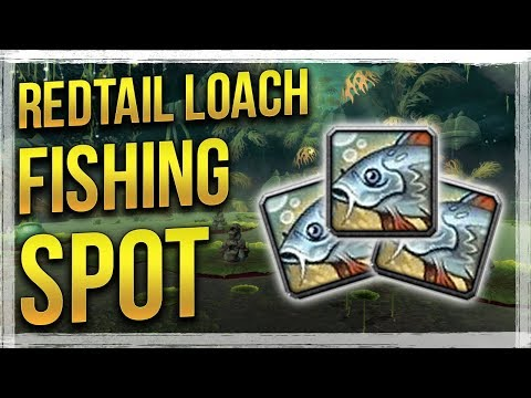WoW BfA: BEST Redtail Loach Fishing Spot