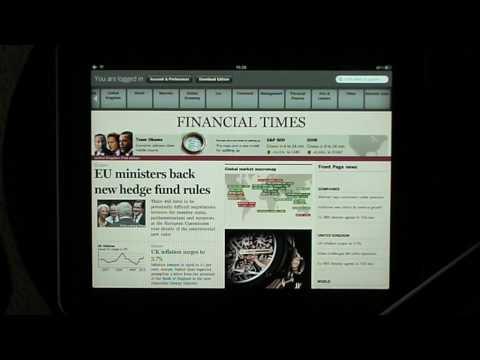 Financial Times iPad App