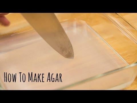 How to Make Agar (Recipe) 寒天の作り方(レシピ)
