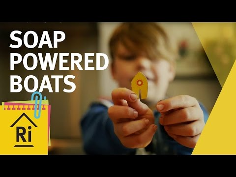 Science for kids - Soap boat water experiment - ExpeRimental #14