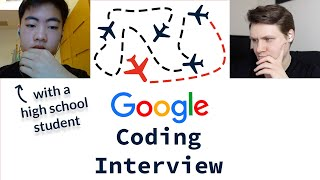 Google Coding Interview With A High School Student