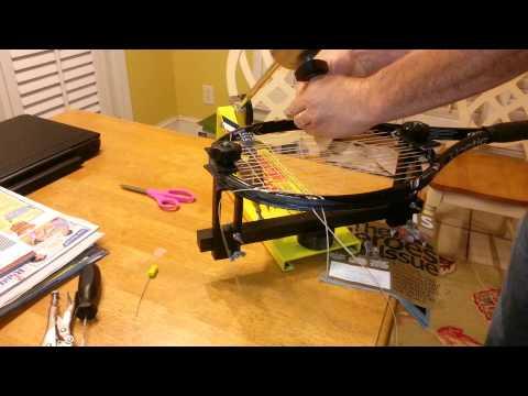 Irvin bead stringing method on a Klippermate