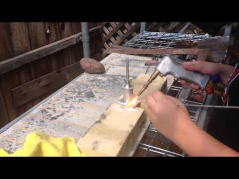 Oxyacetylene Weld Aluminum Intakes