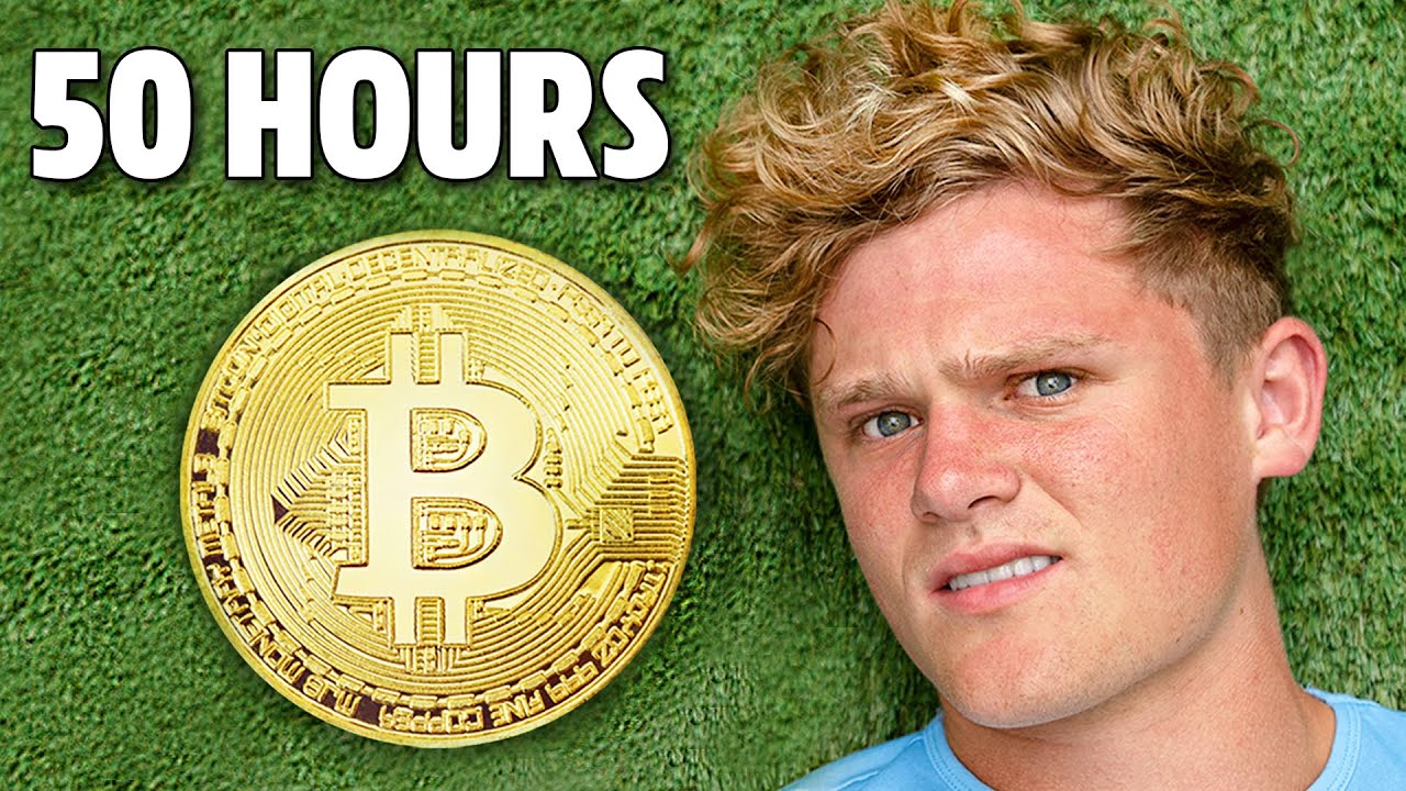 I Survived on Only Bitcoin for 50 Hours
