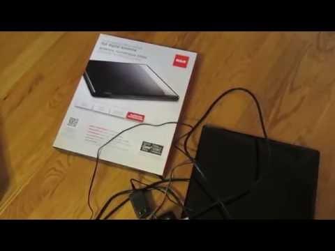 RCA Amplified Flat Digital HDTV Antenna Review