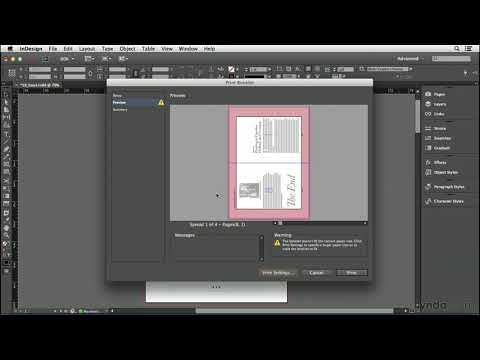 InDesign CC tutorial: Printing a small booklet | lynda.com