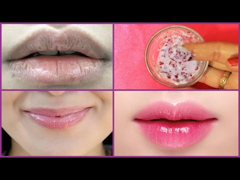 Get Rosy Soft and Pink Lips Naturally at Home/Simple Way to Make-100% Work| Lips Rose Petals Pack
