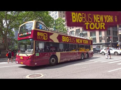 New York Big Bus Tour - Night & Day 4K