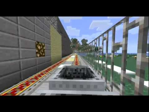 Minecraft Fully Automatic Subway System