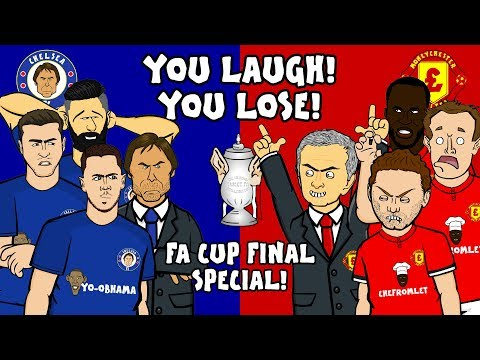 🤣CHELSEA vs MAN UTD - You Laugh, You Lose!🤣 (FA Cup Final 2018 Preview)