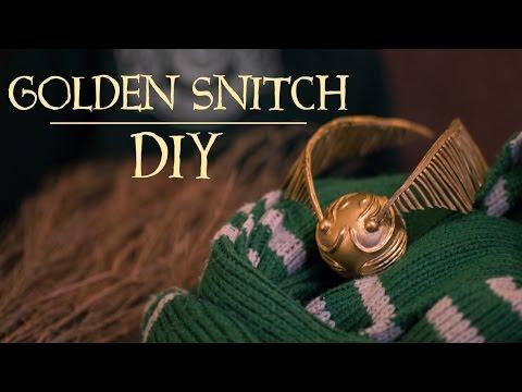 Golden Snitch | Harry Potter DIY