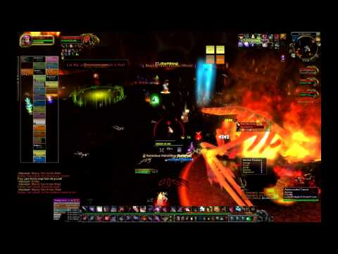 Firelands Alysarazor 25N kill - last phases from 40% down - WoW