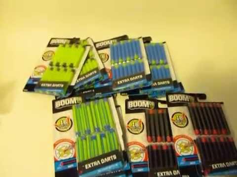 12 Packs=192ct Boom Co Smart Stick Darts Replacement Refills Blaster