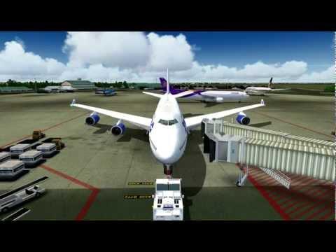 Transaero UN562 747-400 VP-BKL Ho Chi Minh City-Saigon (SGN) - Moscow (DME)