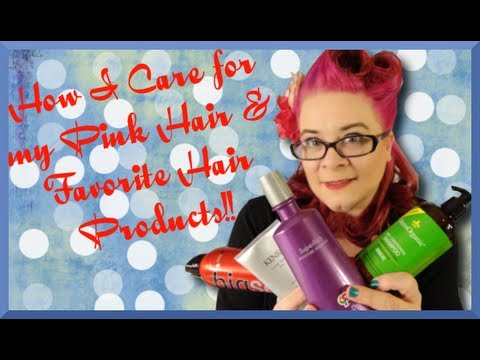 Keeping my Dyed Hair Healthy and Favorite Hair Products