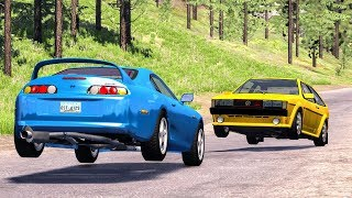 Realistic High Speed Crashes #30 - Beamng Drive
