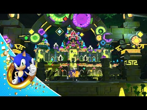 Sonic Forces - Casino Forest Gameplay