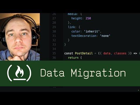 Data Migration (P5D68) - Live Coding with Jesse