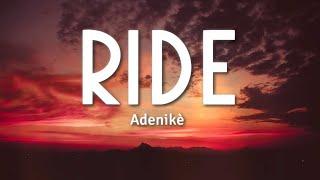 Adenikè - Ride (So Fun Mi) | Afrobeats 2020 (Lyrics) 🎵