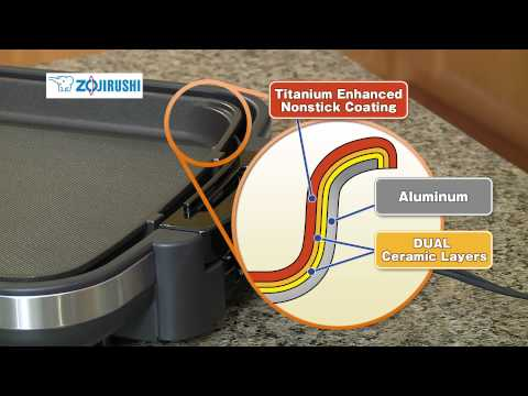 Zojirushi Gourmet Sizzler®  Electric Griddle  EA-DCC10