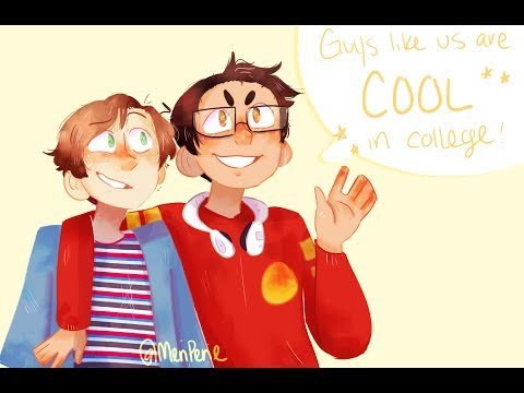 COOL IN COLLEGE! (Be More Chill Speedpaint)