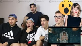"""5 Guys React to """"Look What You Made Me Do - Taylor Swift Music Video"""