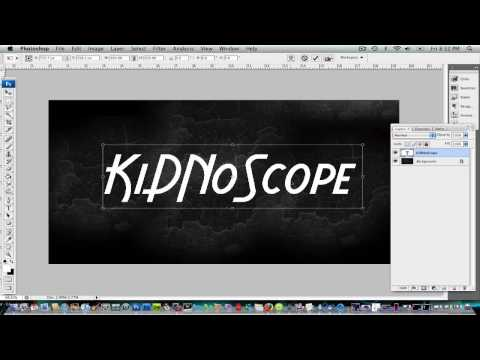 PhotoShop CS3/CS4 Tutorial : How to make animation text [HD]