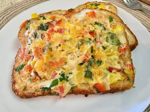 Cheese Omelette Bread