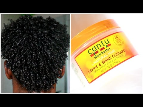 Men Hair Care : How To Get Curly Hair With Cantu Shea Butter Custard